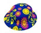 Шляпа детская Котелок пластик с принтом