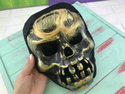 Маска череп хэллоуин