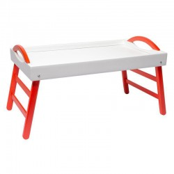 Столик Бело-красный