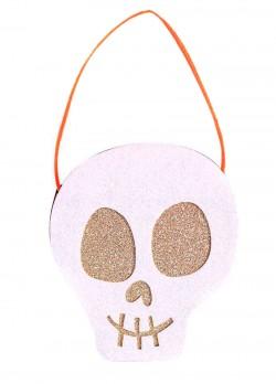 Кашпо для конфет Halloween Череп