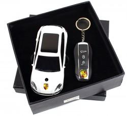 Подарочный набор 2в1 Сувенирная зажигалка + зажигалка-брелок Porsche Cayenne