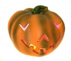 Декоративная Тыква с подсветкой на Halloween
