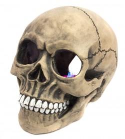 Декоративный череп с подсветкой