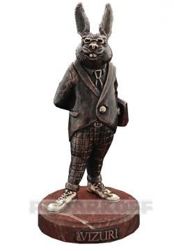 Бронзовая скульптура Финансист