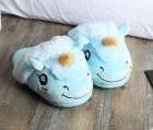 Домашние тапочки Единорог Blue