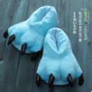 Плюшевые Тапочки Кигуруми Лапы Blue
