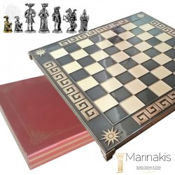 Шахматы Рококо-Средневековая Франция 45х45 см