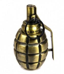 Оригинальная зажигалка Граната с турбо пламенем