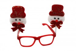 Новогодние очки Снеговик