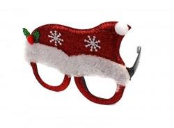 Новогодние очки с присыпкой Колпак