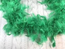 Боа перьевое зеленое