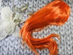 Парик ровный оранжевый