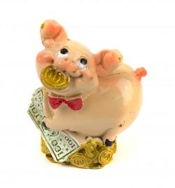 Символ года статуэтка Свинка богач