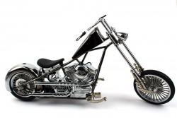 Сувенирная зажигалка мотоцикл Чоппер