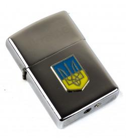 Зажигалка бензиновая Герб Украины