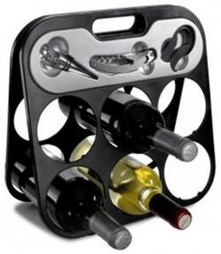 """Стойка для вина """"Башня"""" V5129-03-AXL"""