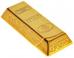 Зажигалка слиток золота гигант