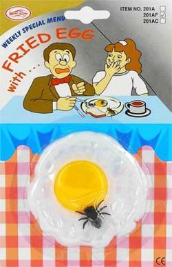 Яичница с мухой