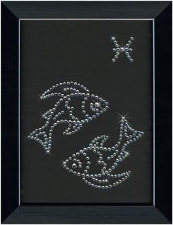Знак зодиака РЫБЫ Swarovski