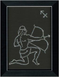 Знак зодиака СТРЕЛЕЦ Swarovski