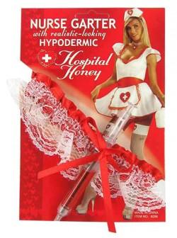 Медсестра sexy - подвязка шприц
