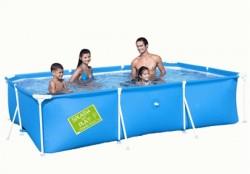 Каркасный прямоугольный бассейн Bestway 56222