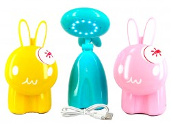Зайчик - сенсорный светильник + USB