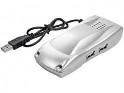 USB Hub на 4 порта в виде автомобиля
