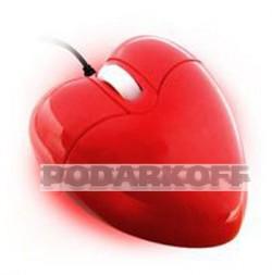 """Оптическая мышь Сердце"""""""