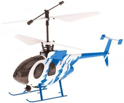 Вертолет Nine Eagle Bravo III RTF 2,4GHz в кейсе White-Blue