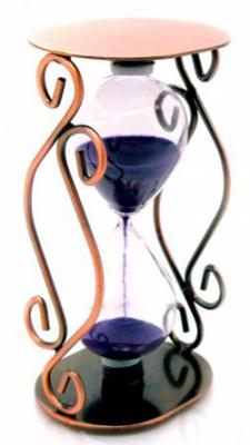 Часы песочные в металле 22149