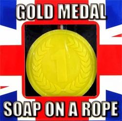 Медаль  мыло