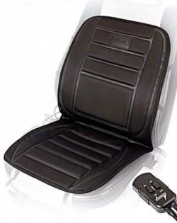 Автомобильная накидка c подогревом Toprelax Comfort  M 12002 BK