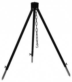 Тренога телескопическая 1,15 м с нерегулируемой цепочкой