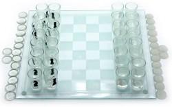 Игровой алко набор 3 в1 шахматы и шашки
