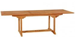 Тиковый стол раскладной прямоугольный ТЕ-180 Т