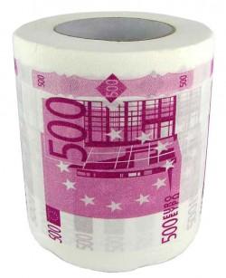 """Туалетная бумага """"500 €"""""""