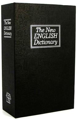 Книга  сейф Словарь маленькая черная