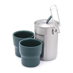 Набор посуды AdventureSteel 406STY 0.7 Л 4823082708093