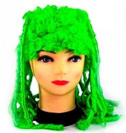 Парик зеленый Сказка