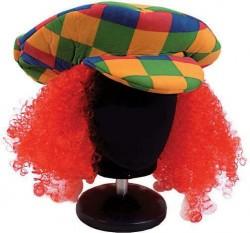 Кепка Клоуна с волосами