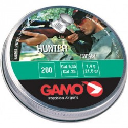 Пульки Hunter 200 шт. кал. 6,35  6320566