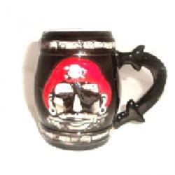 Пиратская кружка Бочка рома