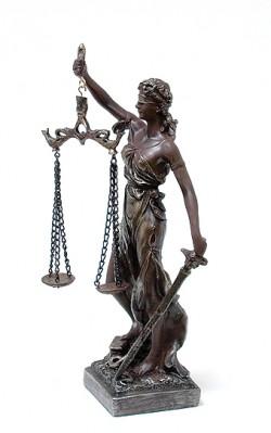 Богиня правосудия 31 см