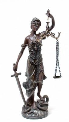 Богиня правосудия 41см