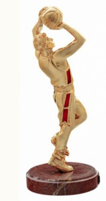 Фигурка из бронзы Баскетболист (Gold)