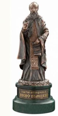 Статуэтка из бронзы Преподобный Иосиф Волоцкий