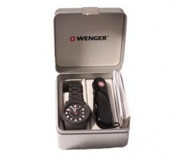 Набор Wenger Нож и Часы 01.0441.102
