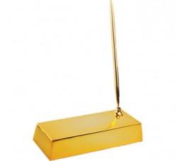 Настольный прибор Золотой слиток