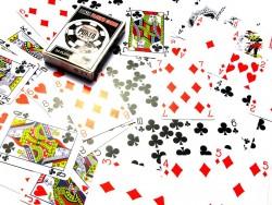 Карты игральные пластиковые Poker playing cards
